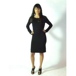 Robe noire manches longues - Aggabarti